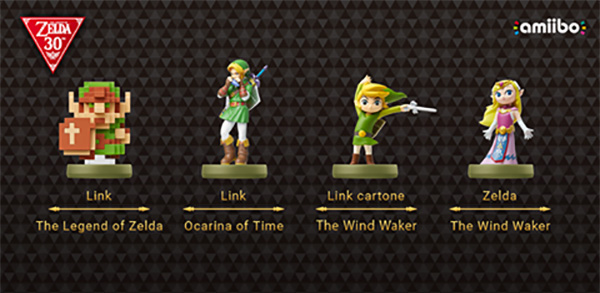 Nuovi amiibo per The Legend of Zelda