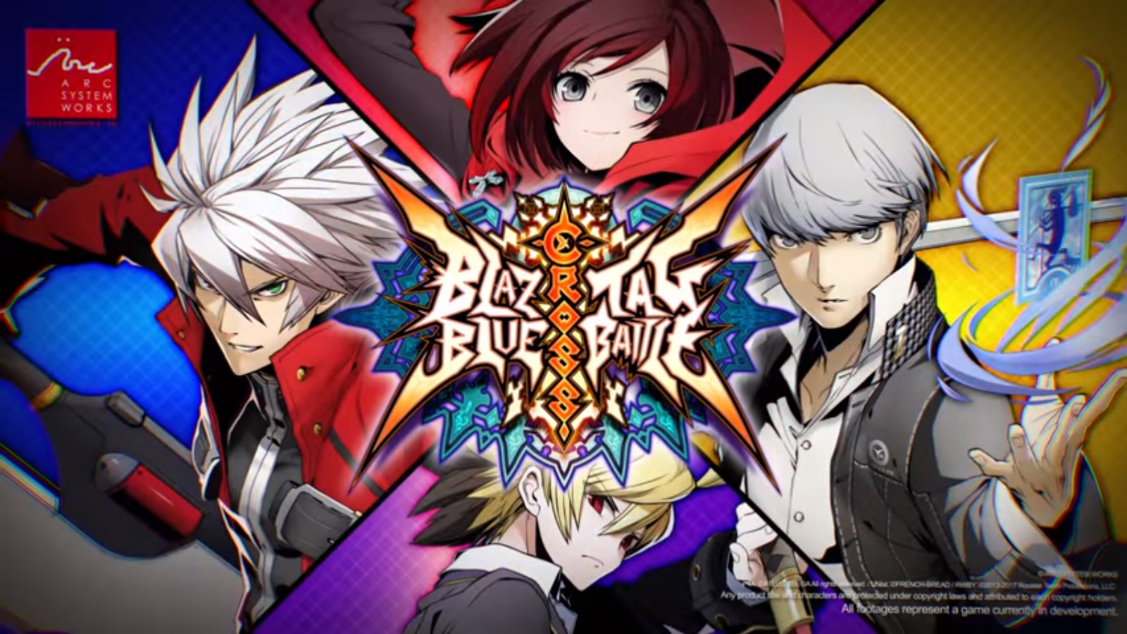 Annunciato BlazBlue Cross Tag Battle