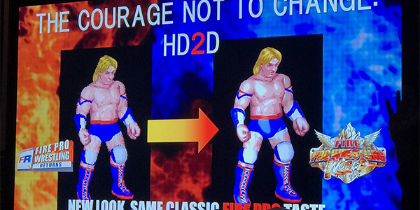 Due video per Fire Pro Wrestling World