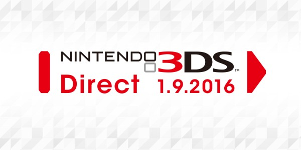 Nintendo 3DS Direct - 01.09.2016