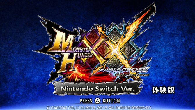 Monster Hunter XX ver Switch in video