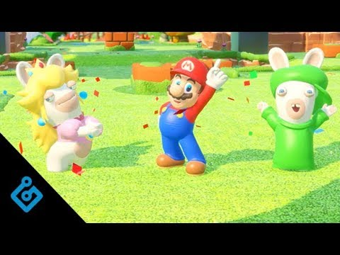 20 minuti con Mario + Rabbids Kingdom Battle