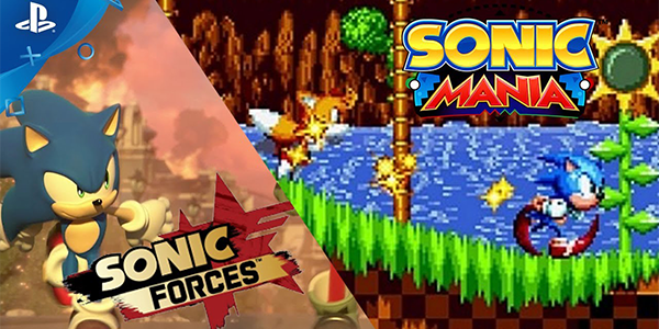 Sonic Mania e Sonic Forces in video
