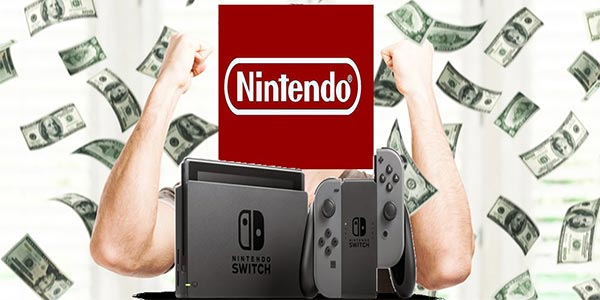 Nintendo Switch da record in USA