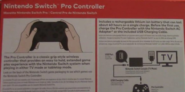 Switch: Batteria Pro Controller da record