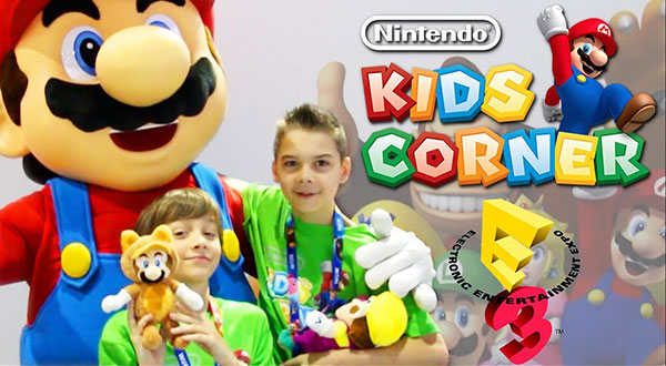 Nintendo: Line Up Kids estate 2016