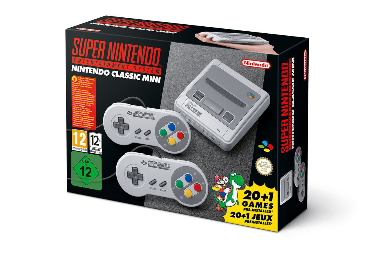 Video unboxing per SNES Classic Mini