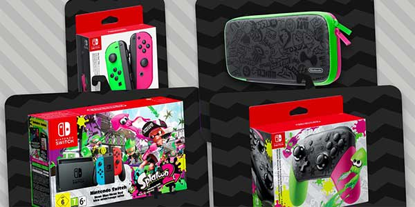 Bundle Switch dedicato a Splatoon 2 sold-out in Giappone