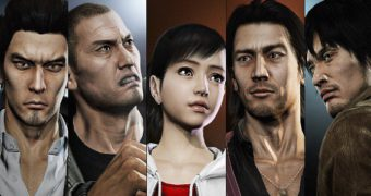 Il cast di supporto di Yakuza 5