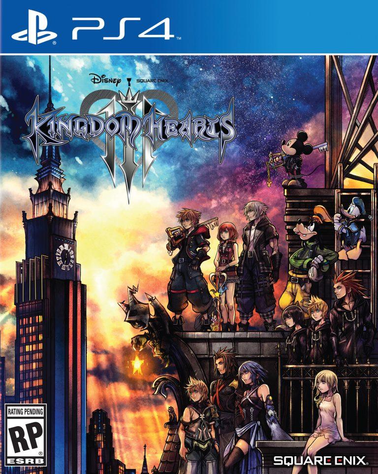 Kingdom Hearts III in video
