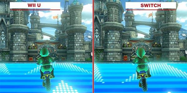 Mario Kart 8 Deluxe – Wii U vs Switch
