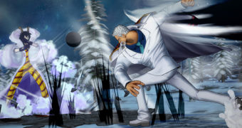 Monkey D. Garp e Caesar Clown sbarcano su One Piece Burning Blood