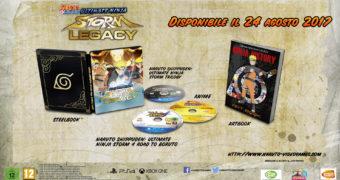 Naruto arriva con due collector il 25 agosto