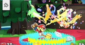 Nuovi video per Paper Mario: Color Splash