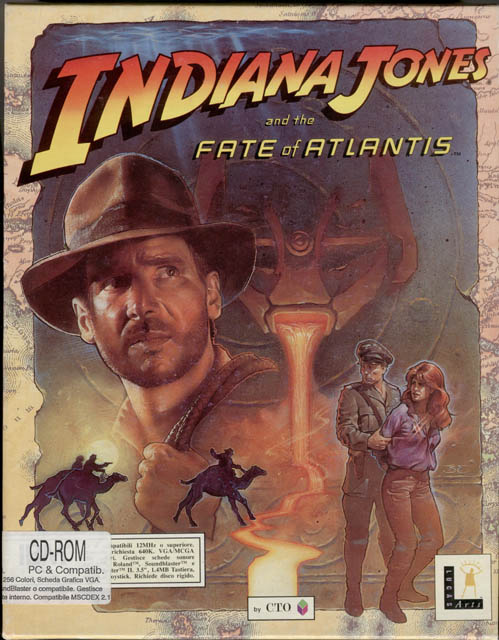Retro Weekend: Indiana Jones and The Fate of Atlantis