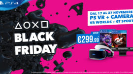 Il Black Friday di PlayStation comincia oggi