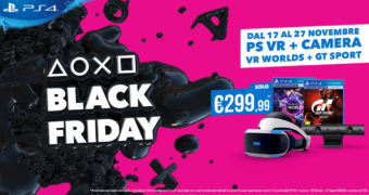 Il Black Friday di PlayStation comincia oggi