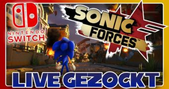 Sonic Forces in video