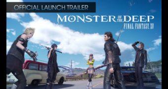 Monster of the Deep: FINAL FANTASY XV – Trailer di lancio