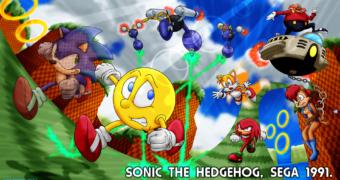Sonic chiama Pac-Man