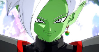 Dragon Ball FighterZ: Fused Zamasu in azione