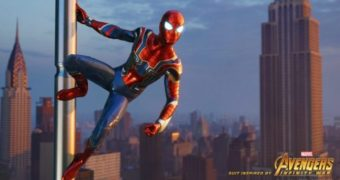 Marvel's Spider-Man – Iron Spider Suit in video