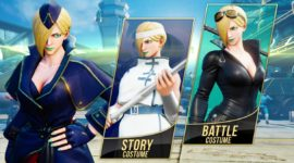 Street Fighter V: Ecco Falke