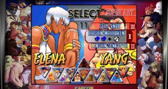 Street Fighter 30th Anniversary Collection: Immagini del training e versus mode
