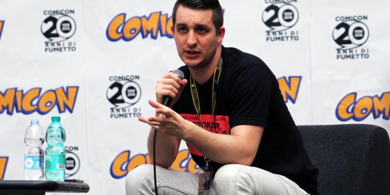 Comicon 2018 – Scambio di battute con Francesco Fossetti