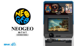 NEO GEO mini all'E3 2018