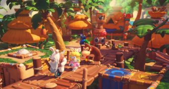 Mario + Rabbids: Kingdom Battle – Donkey Kong Adventure si mostra con venti minuti di gameplay