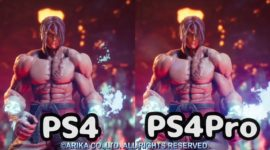 Fighting EX Layer – Differenze tra PS4 e PS4 Pro