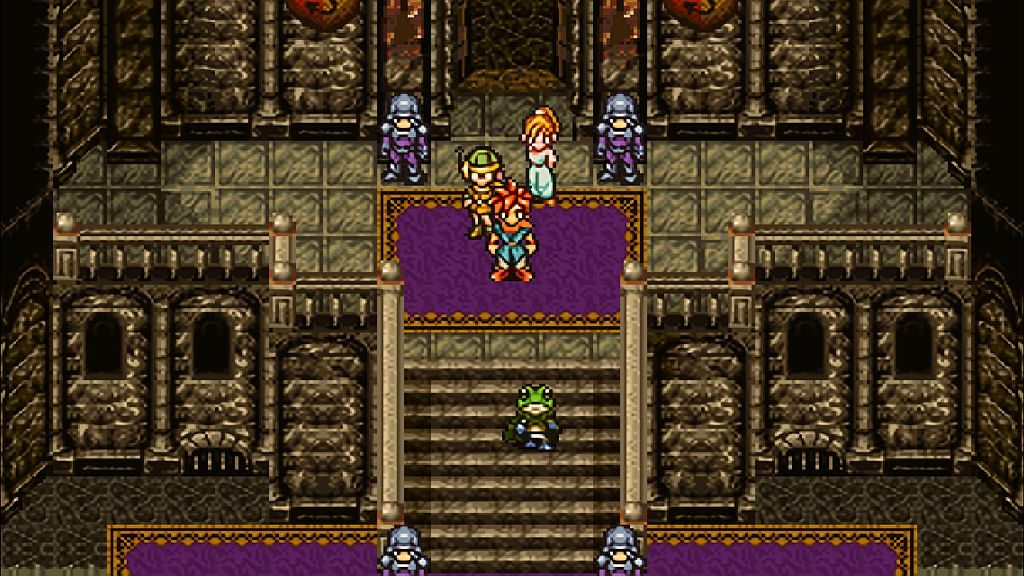 Chrono Trigger - Frog departure