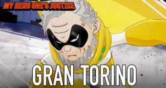 My Hero One's Justice – Gran Torino e Muscular Gameplay