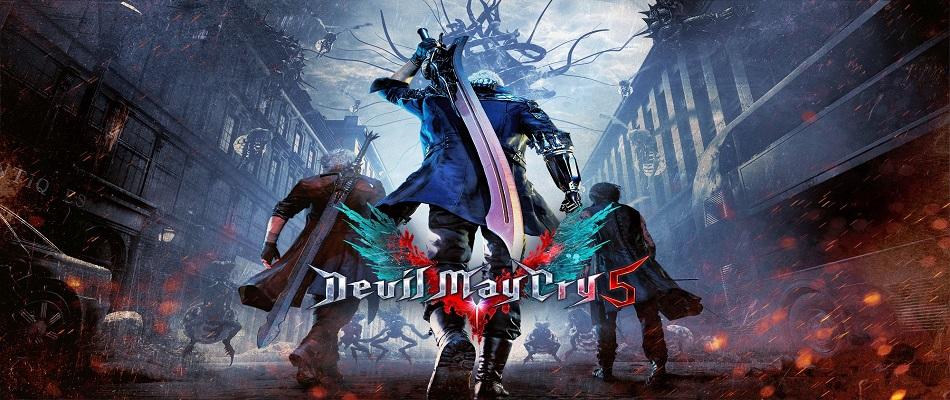 Particolare steelbook firmata Bengus per Devil May Cry 5