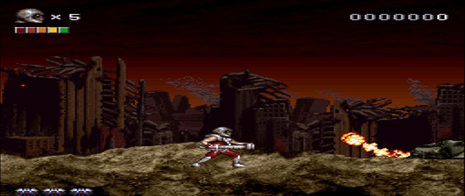 Rendering Ranger R² Run and Gun
