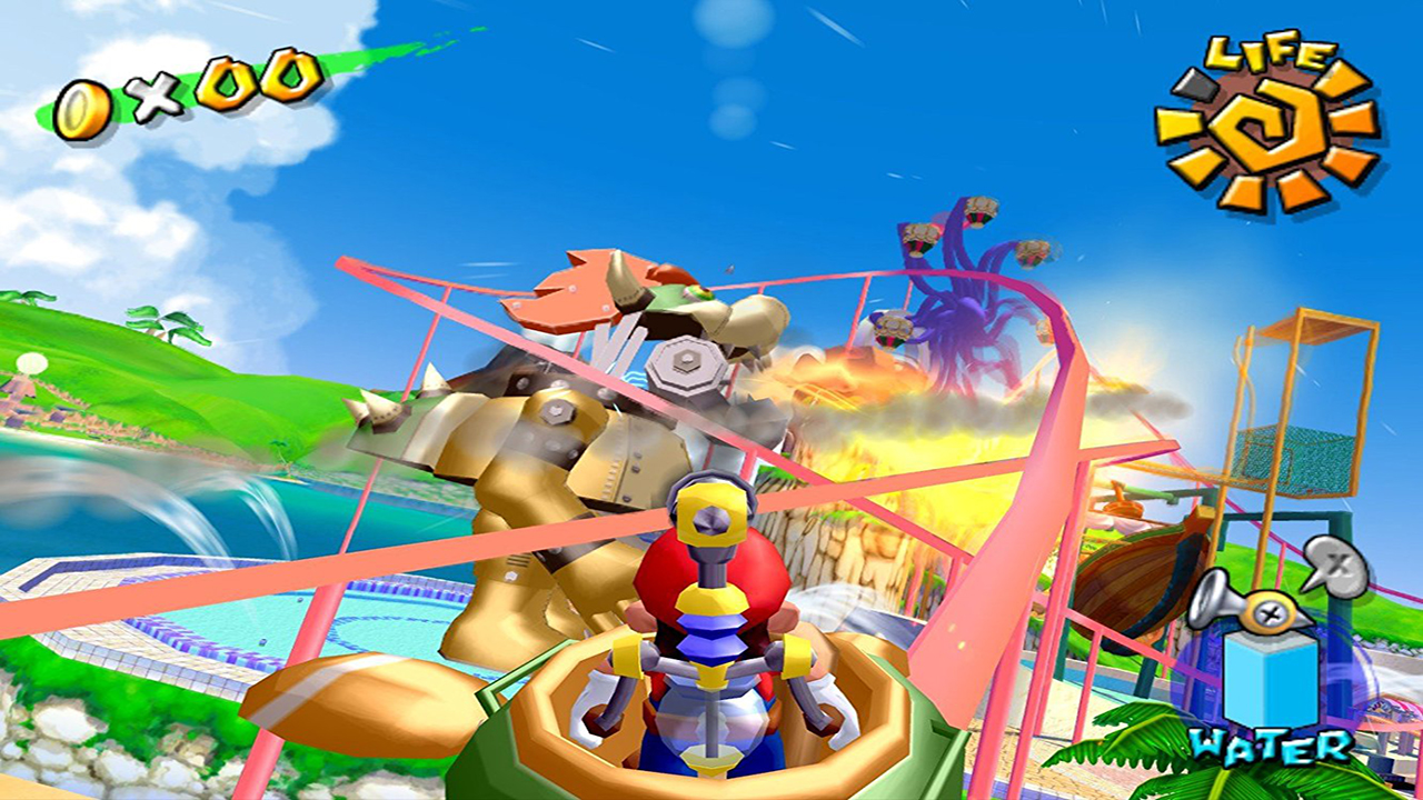 Super Mario Sunshine Montagne Russe