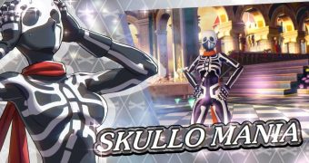 SNK Heroines Tag Team Frenzy: Ecco Skullomania donna