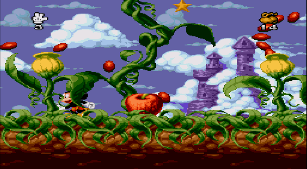 Mickey Mania Screenshot SNES