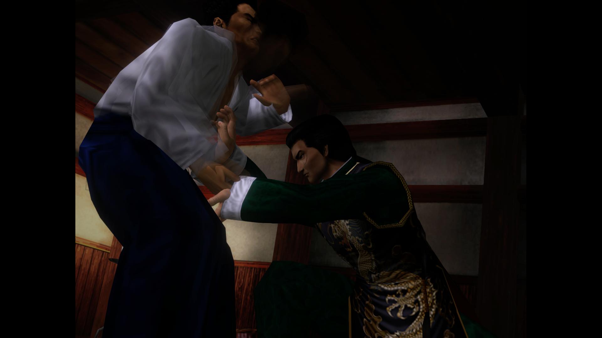 Shenmue - Lan Di vs Iwao Hazuki