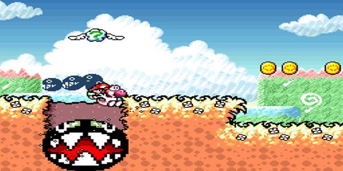 Yoshi's Island - Screenshot 1