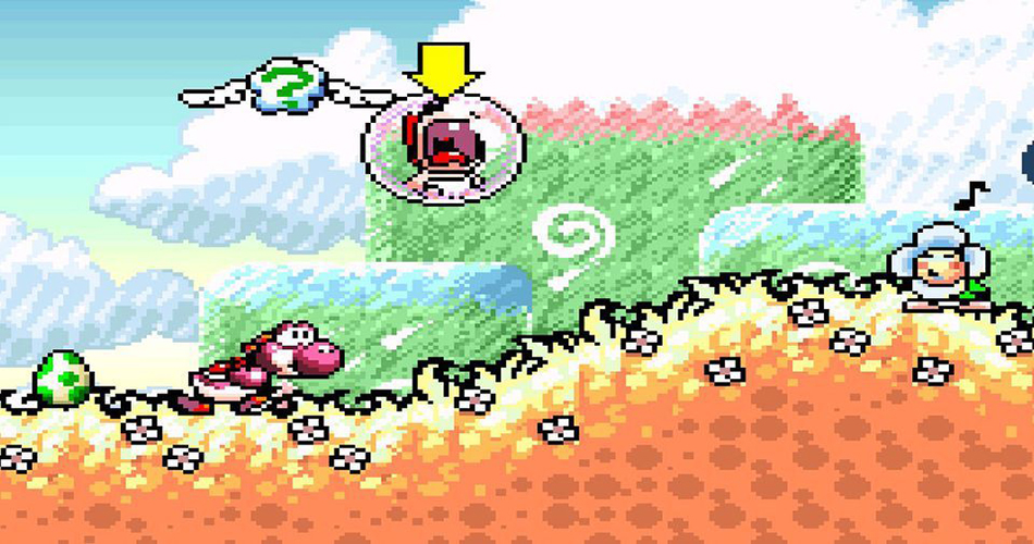 Yoshi's Island - Screenshot 2
