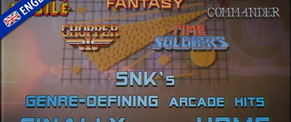 SNK 40th ANNIVERSARY COLLECTION – Free DLC Bundle 1