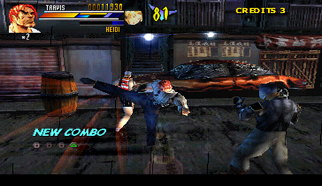Gekido: Urban Fighters Screenshot
