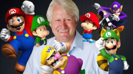 Guinness World Record per Charles Martinet, doppiatore di Super Mario