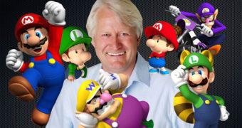 Guinness World Record per Charles Martinet, doppiatore di Super Mario