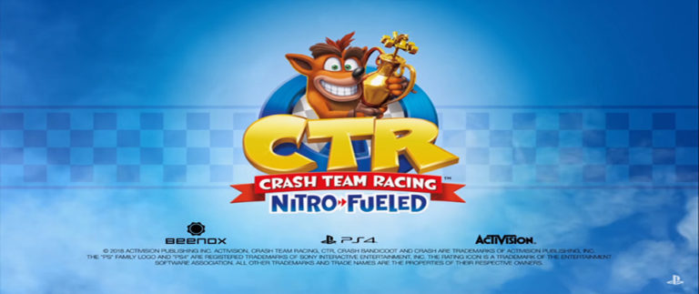 Crash Team Racing remake confermato ai The Game Awards 2018