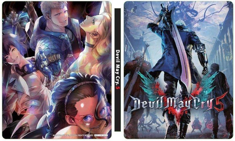 Devil May Cry 5 steelbook Giappone