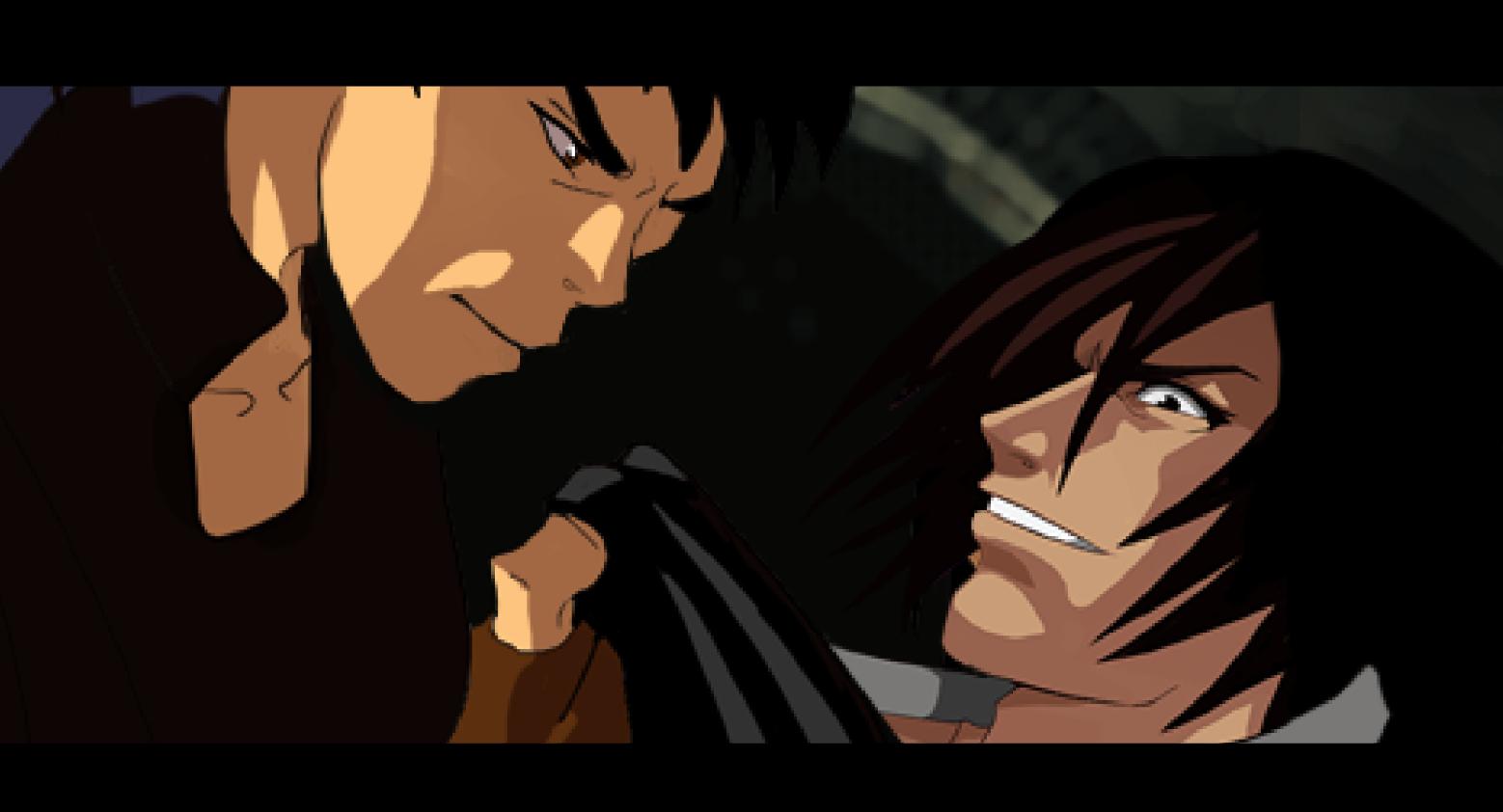 Gekido Kintaro's Revenge cutscene