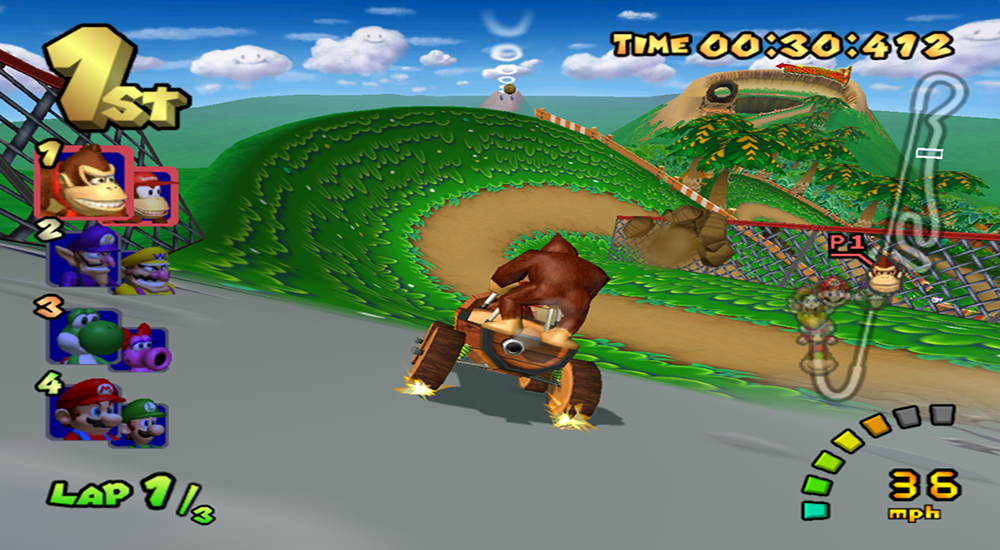 Mario Kart Double Dash!! Screenshot